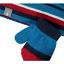 Smartwool Argyle Hat and Mitt Set Arctic Blue close