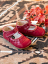 Livie & Luca Ruche Red Baby Soft Sole