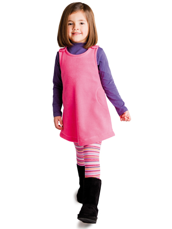 Country Kids Lollipop Stripe Tights Lifestyle