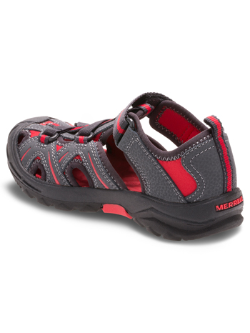 Merrell Hydro Sandal Grey Red