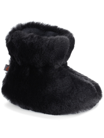Acorn Easy Bootie Black Bear