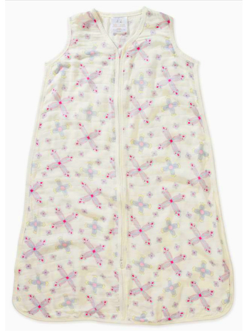 aden + anais Silky Soft Sleeping Bag Flower Child Medallion Size: Medium