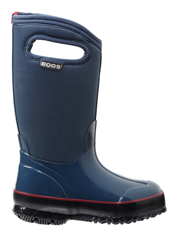 Bogs Kids' Insulated Boots Classic Solid Navy