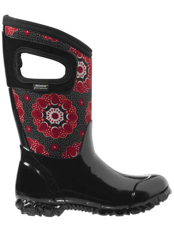Bogs Kids' Insulated Boots North Hampton Kaleidoscope Black Multi