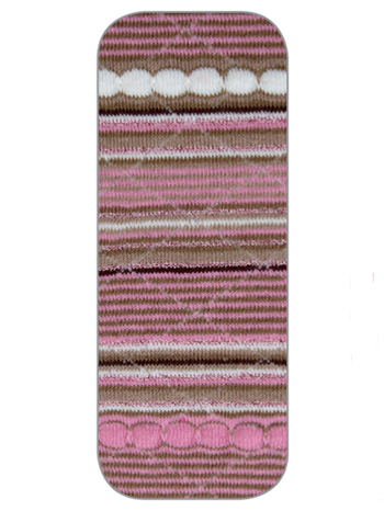 Country Kids Sparkle Stripe Tights Thistle