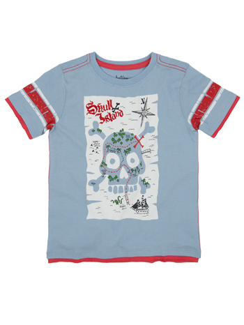 Hatley Boys Graphic Tee Skull
