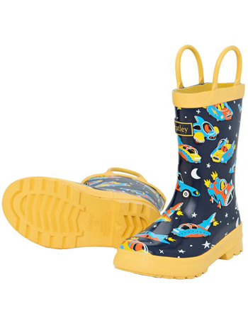 Hatley Space Cars Of The Future Rain Boots