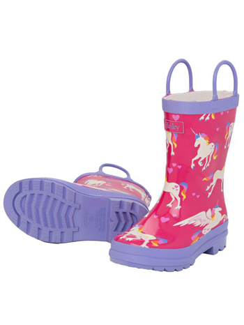 Hatley Unicorns & Rainbows Rain Boots
