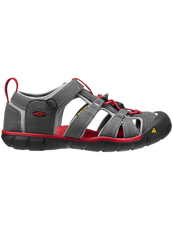 KEEN Seacamp II CNX Magnet/Racing Red (Kids/Youth)