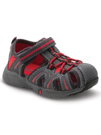 Merrell Hydro Sandal Grey/Red (Toddler)