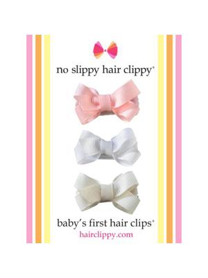 No Slippy Baby's First Bows Set C