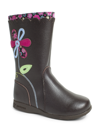 pediped Flex Kenadi Chocolate Brown Boot