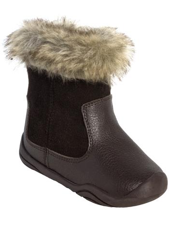pediped Grip 'n' Go Mia Brown Boots