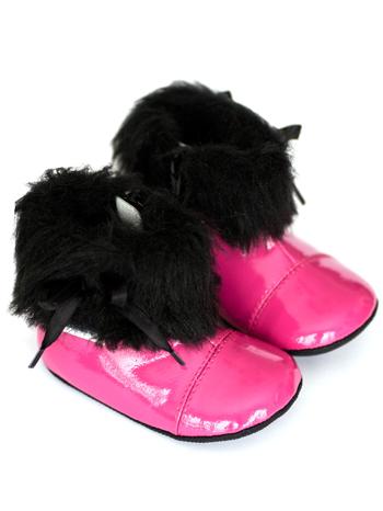 Robeez Mini Shoez Brooklyn Hot Pink