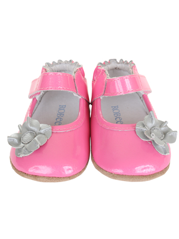 Robeez Mini Shoez Mia Azalea Pink