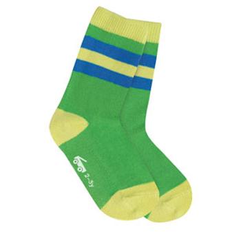 See Kai Run Organic Socks Stripes Ahoy Green