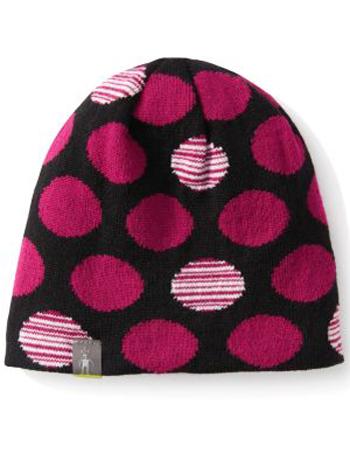 SmartWool Kids Reversible Wintersport Dot Hat Berry