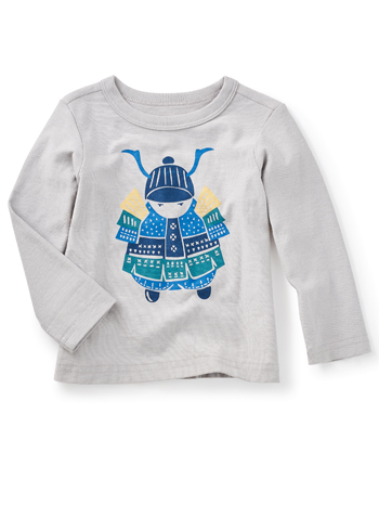Tea Collection Little Samurai Graphic Tee (Baby Boys)