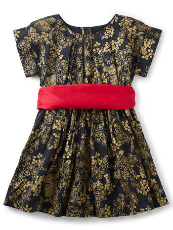 Tea Collection Nagashi Sash Dress (Girls)