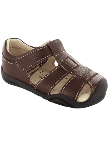 pediped Grip 'n' Go Sydney Chocolate Brown