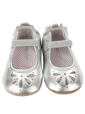 Robeez Mini Shoez Nora Silver