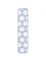Country Kids Organic Big Dot Tights Baby Blue