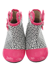 Robeez Mini Shoez Happy Hopper Rainboot