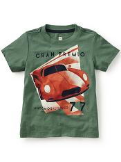 Tea Collection Gran Premio Graphic Tee (Boys)