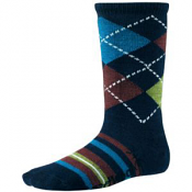 SmartWool Striped Diamond Gym Deep Navy Heather