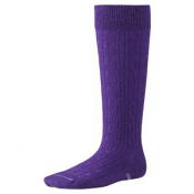 Smartwool Kids Cable Kneehigh Grape