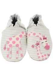 Robeez Reach For The Stars Cream (Soft Soles)