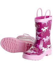 Hatley Fairy Tale Horses Rain Boots