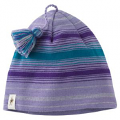 SmartWool Kids Wintersport Stripe Hat Lavender