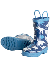 Hatley Silhouette Dinos Rain Boots