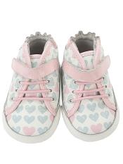 Robeez Mini Shoez Cali High Top Pastel Pink
