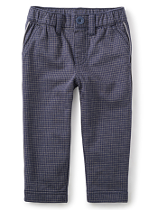 Tea Collection Windowpane Traveler Trousers (Boys)