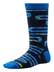 SmartWool Boys Slithering Snakes Deep Navy Heather