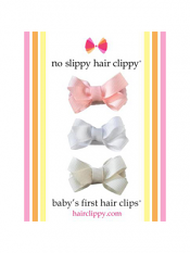 No Slippy Baby's First Bows Set C