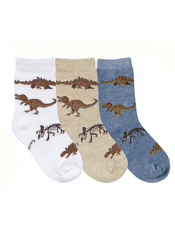 Country Kids Real Dinosaurs Sock Set