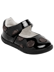 pediped Grip 'n' Go Giselle Black Patent