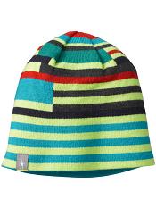 SmartWool Kids Wintersport Stripe Hat Smartwool Green