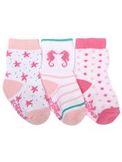 Robeez 3pk Socks By The Seaside