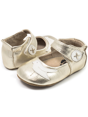 Livie & Luca Pio Pio Silver Metallic (Baby Soft Sole)