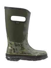 Bogs Rain Boots Digital Camo Olive Multi