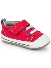 Smaller by See Kai Run Stevie II Red Canvas