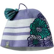 SmartWool Kids Warm Floral Stripe Hat Lavender