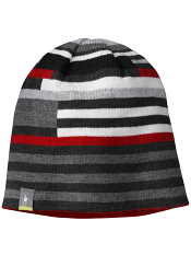 SmartWool Kids Wintersport Stripe Hat Charcoal Heather