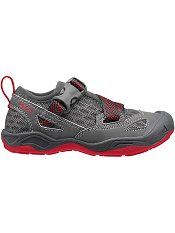 KEEN Komodo Dragon Magnet/Racing Red (Kids/Youth)