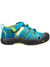 KEEN Newport H2 Hawaiian Blue/Green Glow (Kids/Youth)