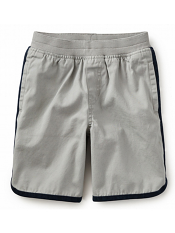 Tea Collection Piped Surf Shorts Stone (Boys)